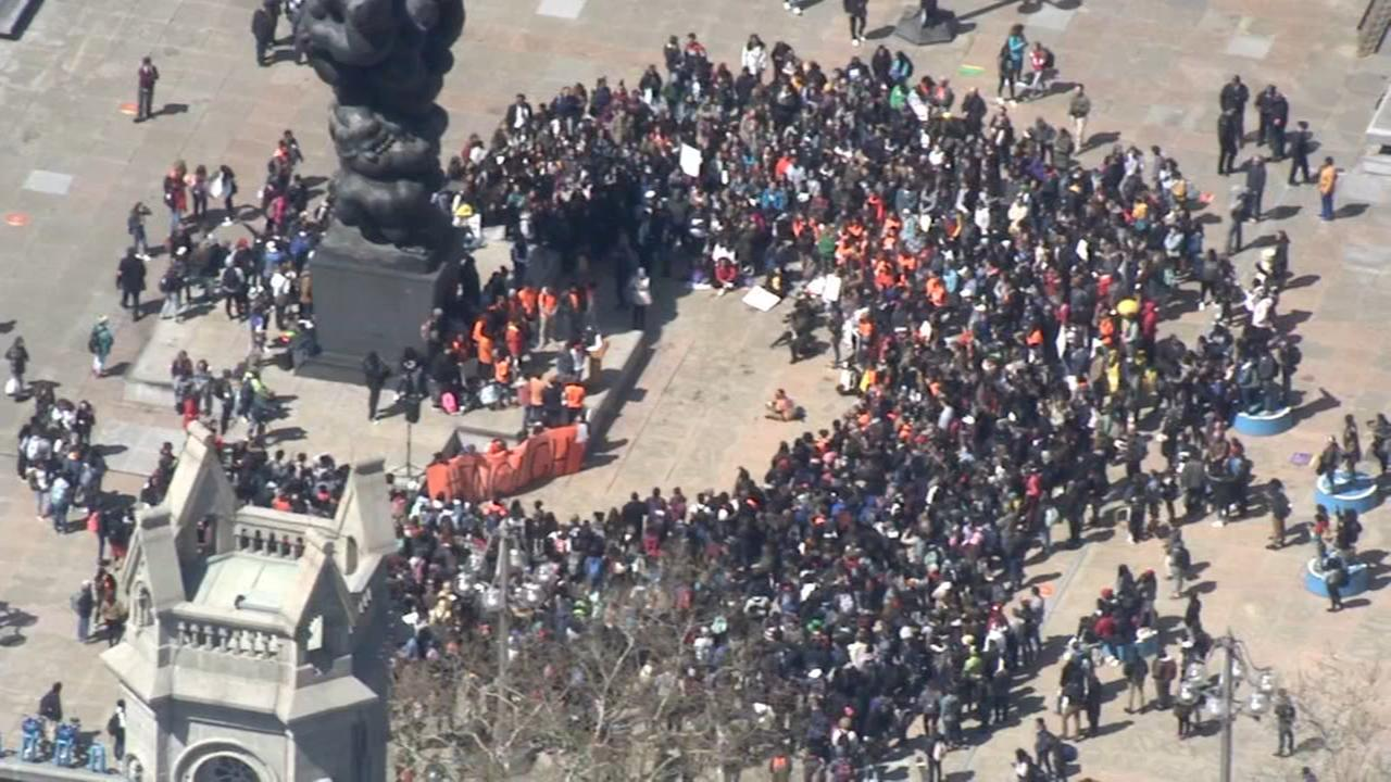 Philly students protest on National School Walkout Day