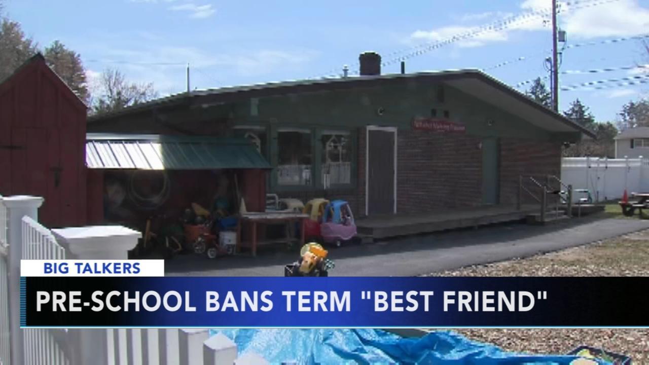 Massachusetts preschool bans kids from using term best friend