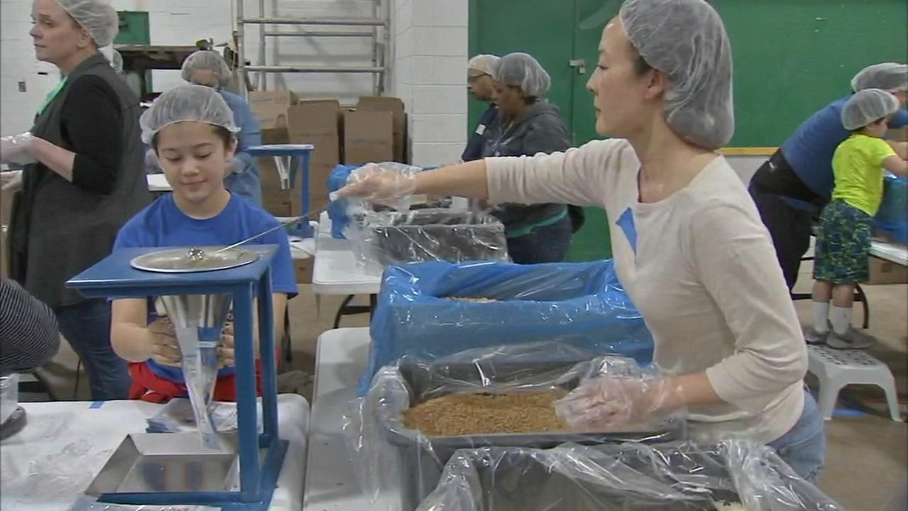 Feed the Starving Children underway in Cherry Hill