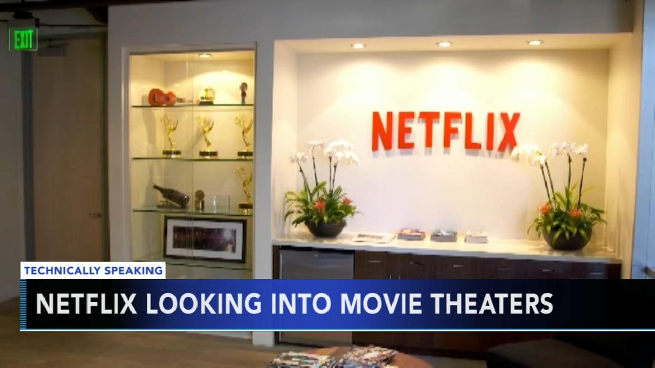 Netflix reportedly looking to buy cinemas to screen original movies