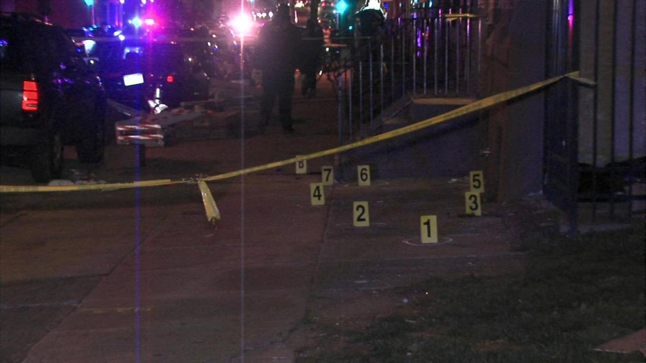 2 dead, 1 injured after shots fired into party crowd in North Philly