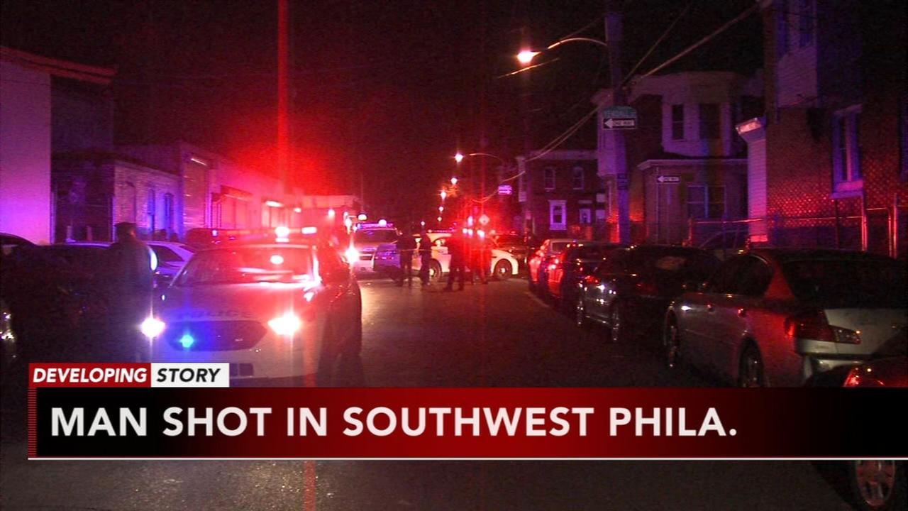 Man shot in Southwest Philadelphia