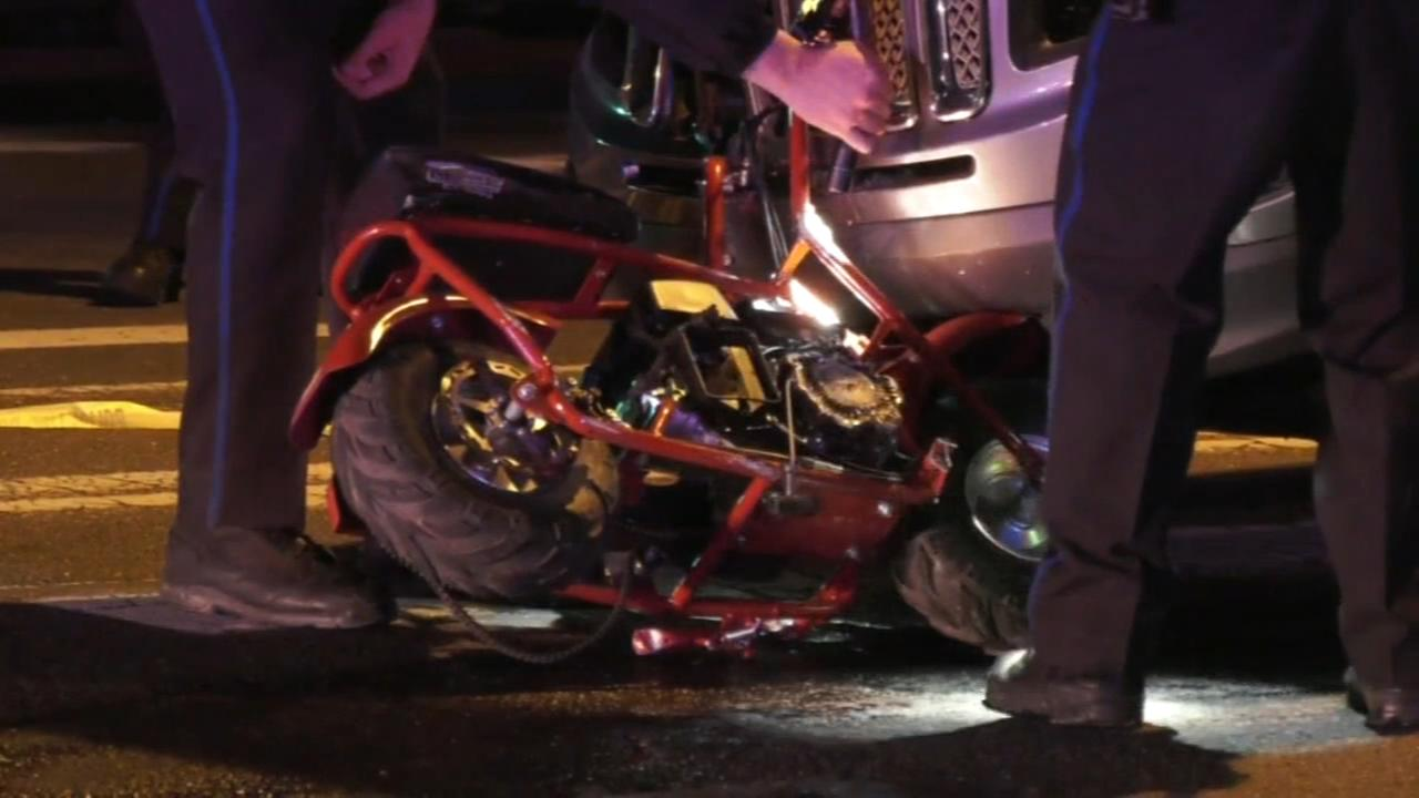 Child killed in suspected DUI crash