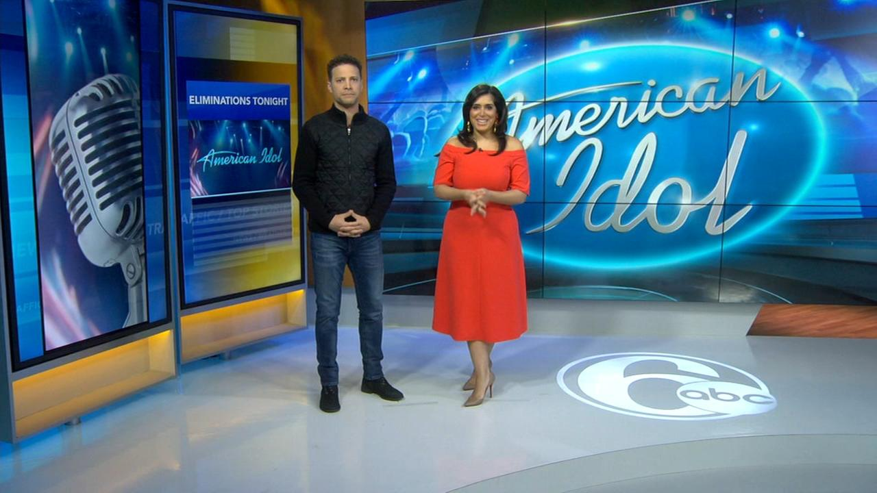Justin Guarini and Alicia Vitarelli discuss Idol Top 14