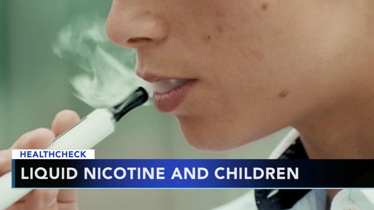Experts warn too many kids exposed to liquid nicotine