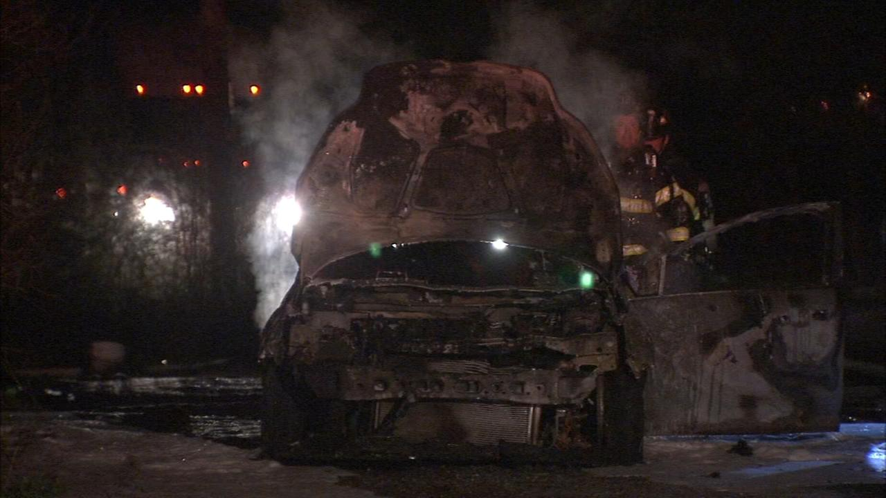 Pennsauken car fire under investigation