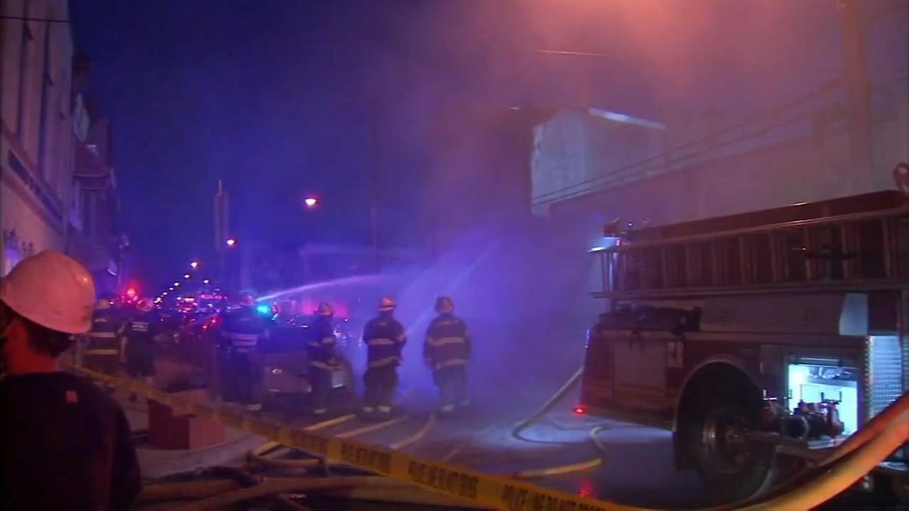 Man, son escape rowhome explosion
