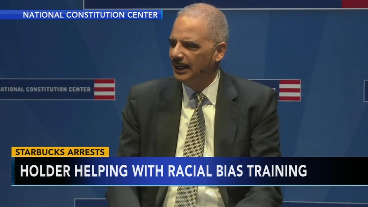 Eric Holder questions arrests of 2 black men at Starbucks