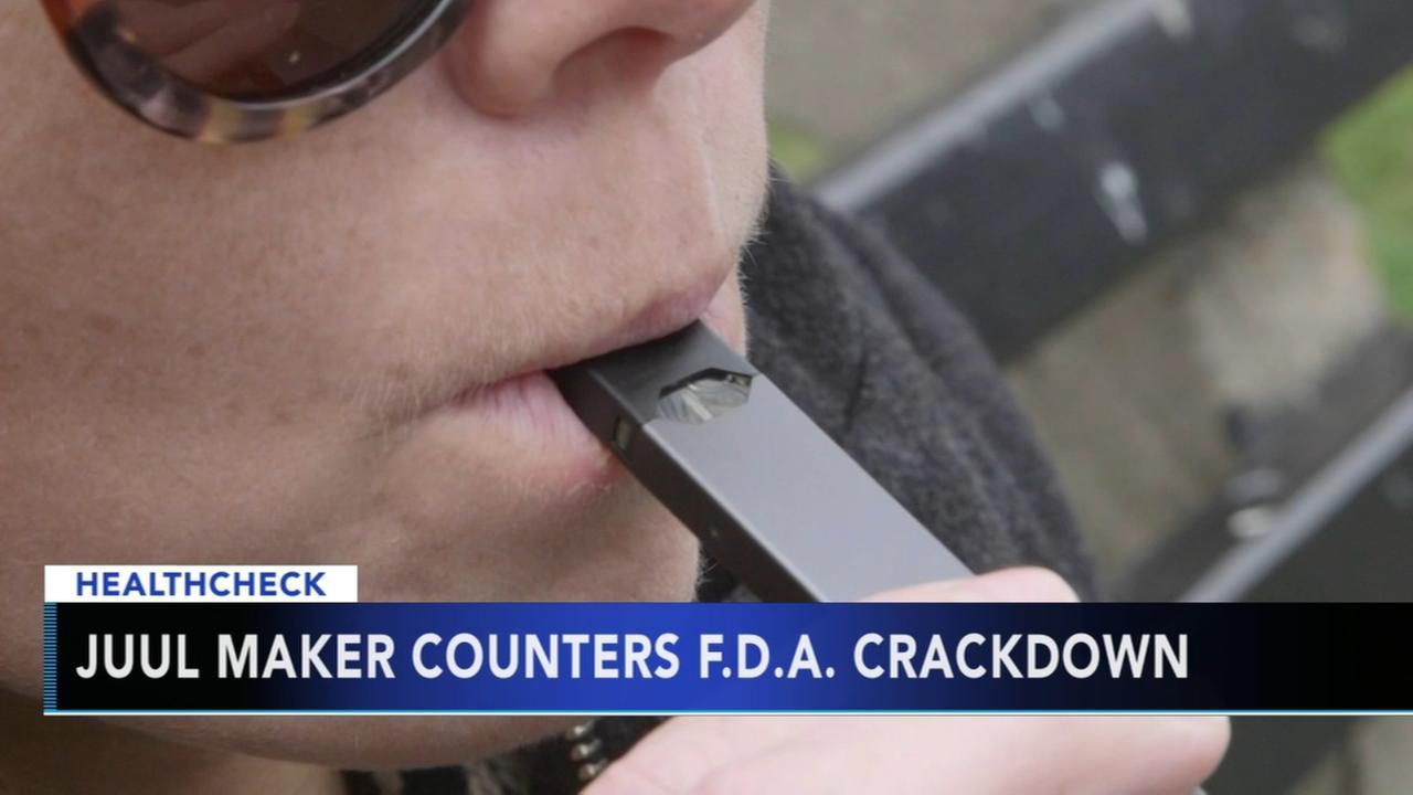 Controversial e-cigarette maker responds to FDA crackdown