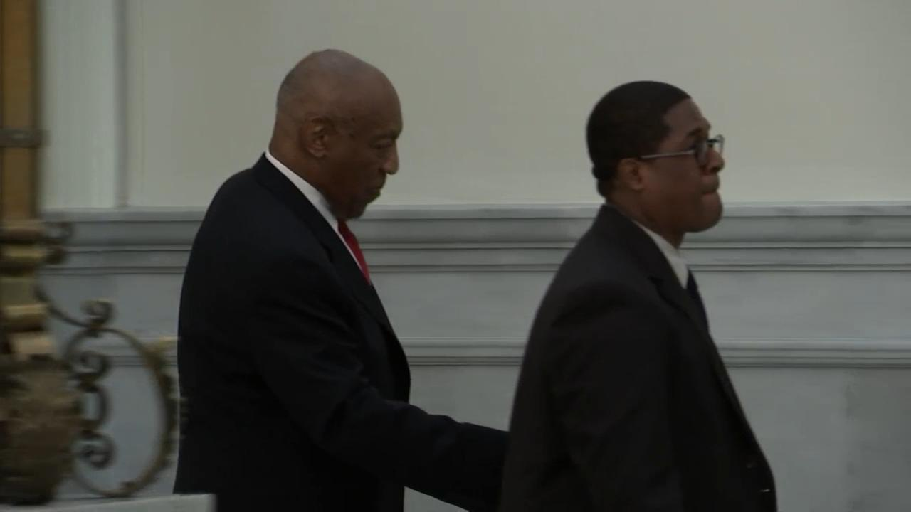 RAW VIDEO: Bill Cosby leaves courtroom after learning verdict