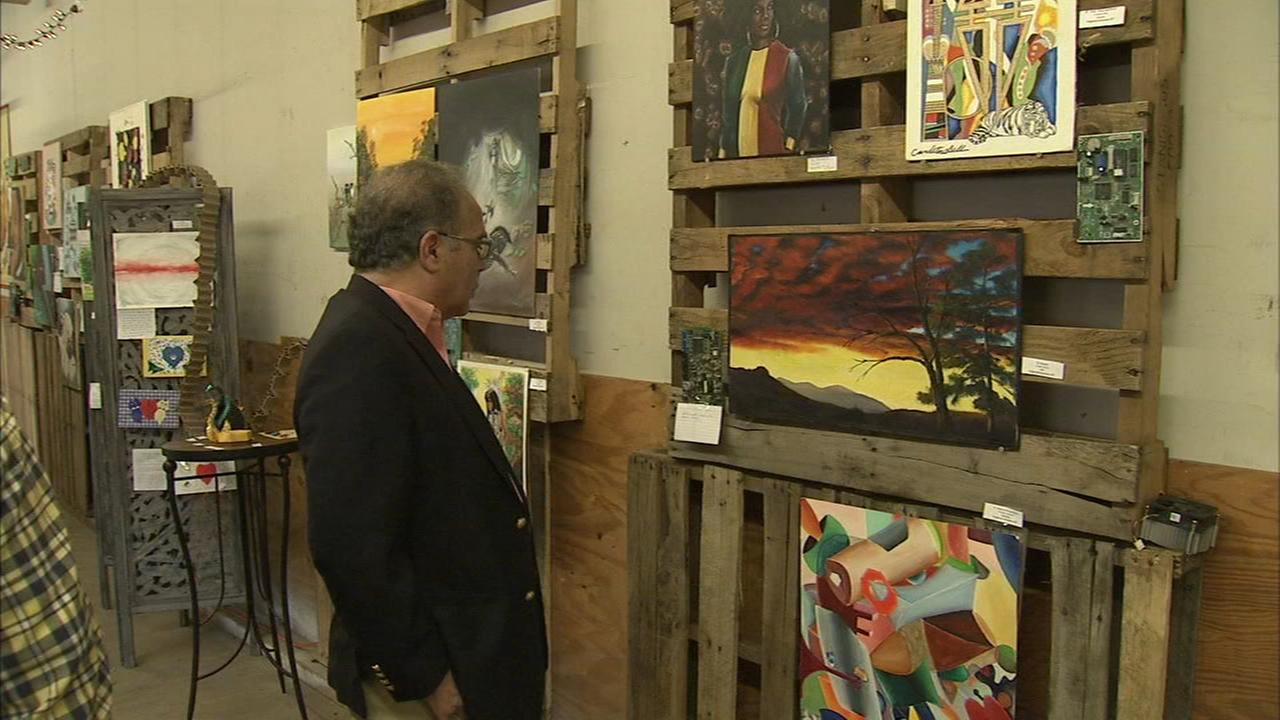Artwork created by inmates on display in Germantown