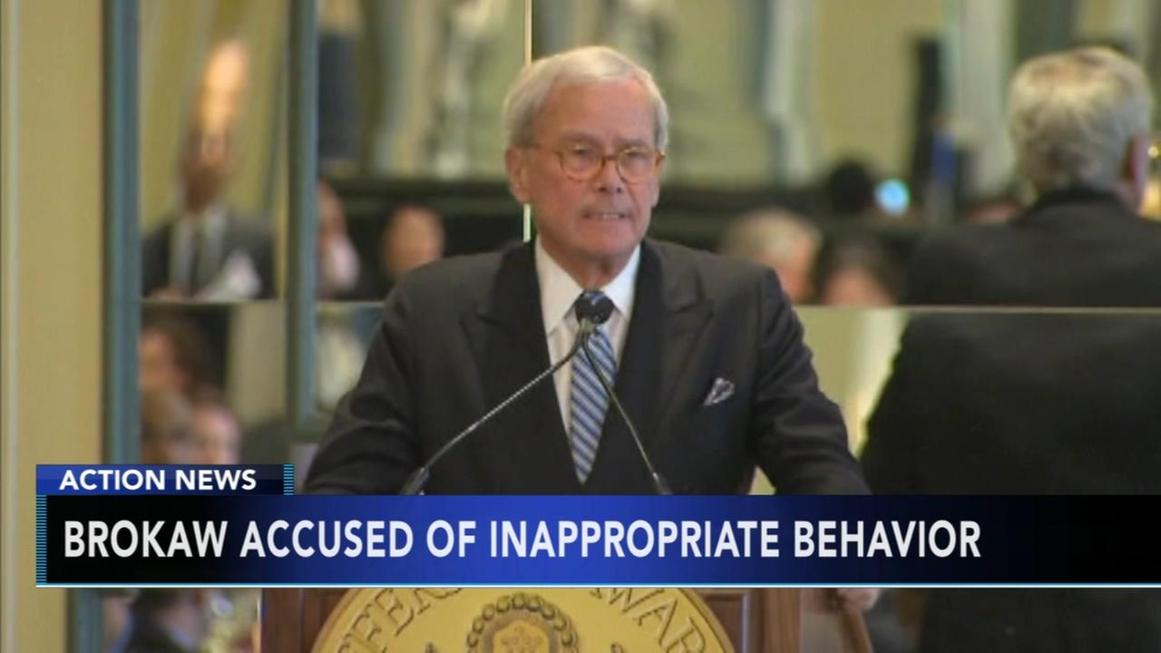 Brokaw denies sexual misconduct claim