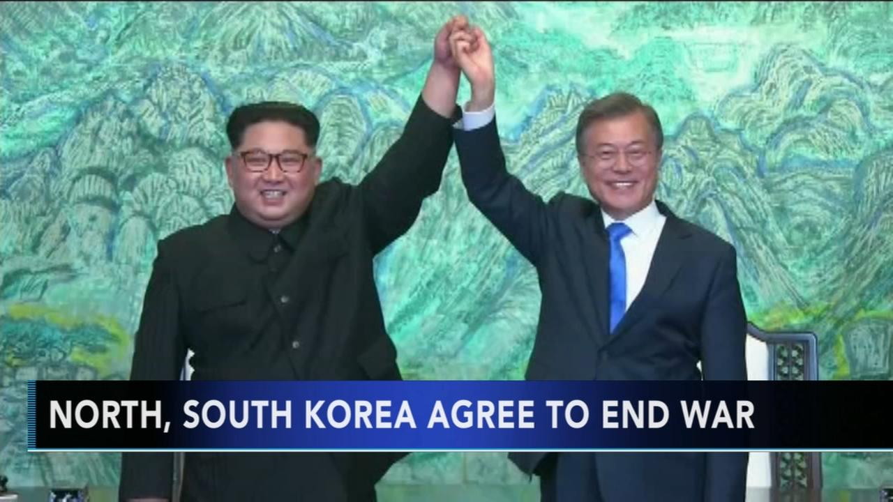Historic agreement between Koreas