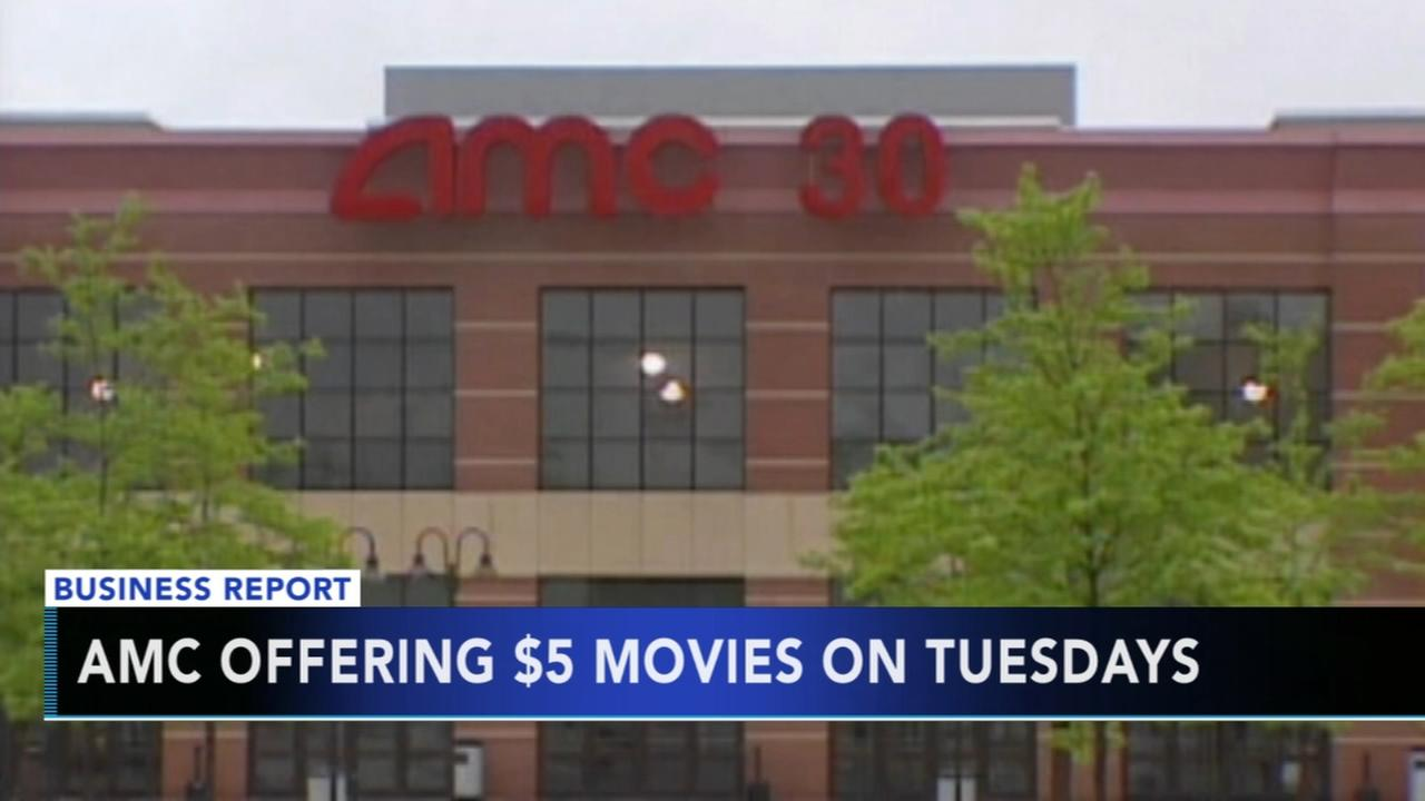 AMC movie theaters offering $5 tickets on Tuesdays