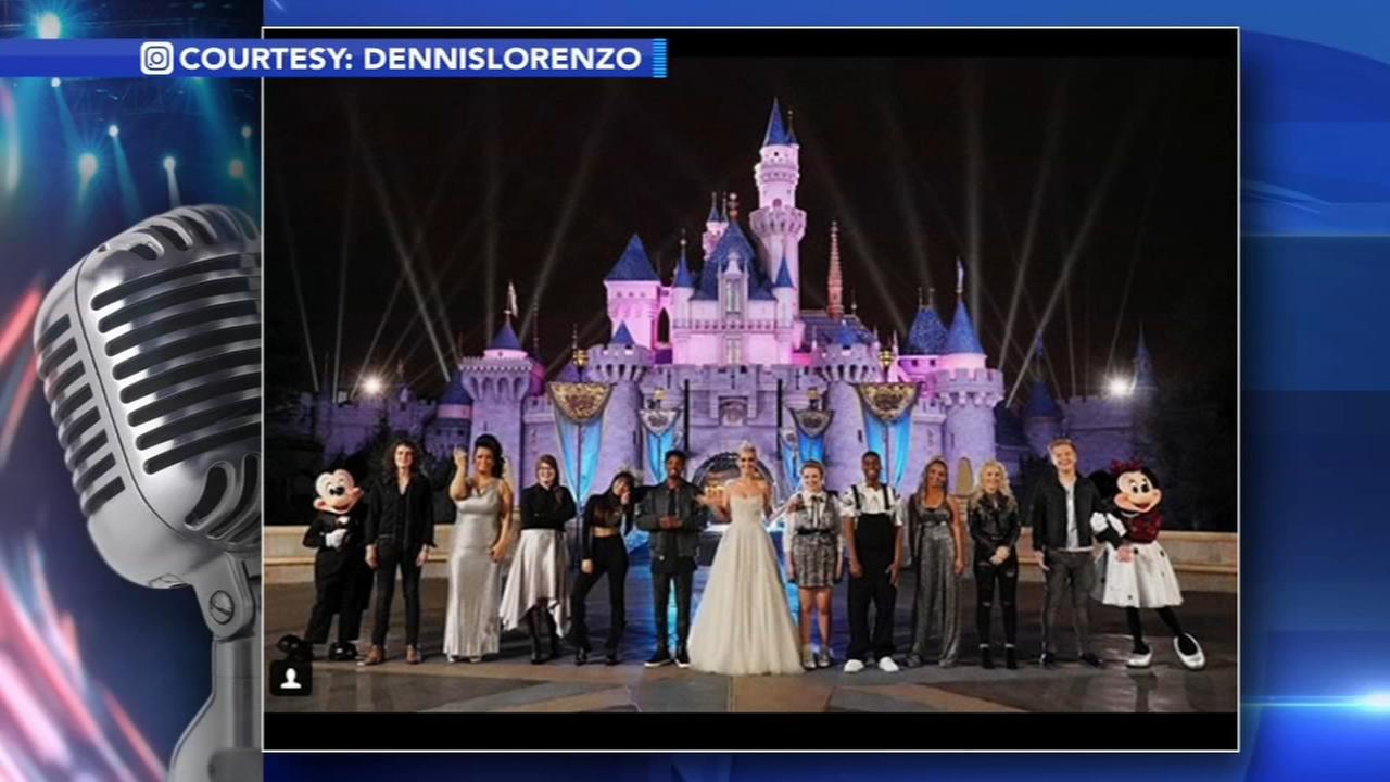 Top 10 American Idol contestants visit Disneyland