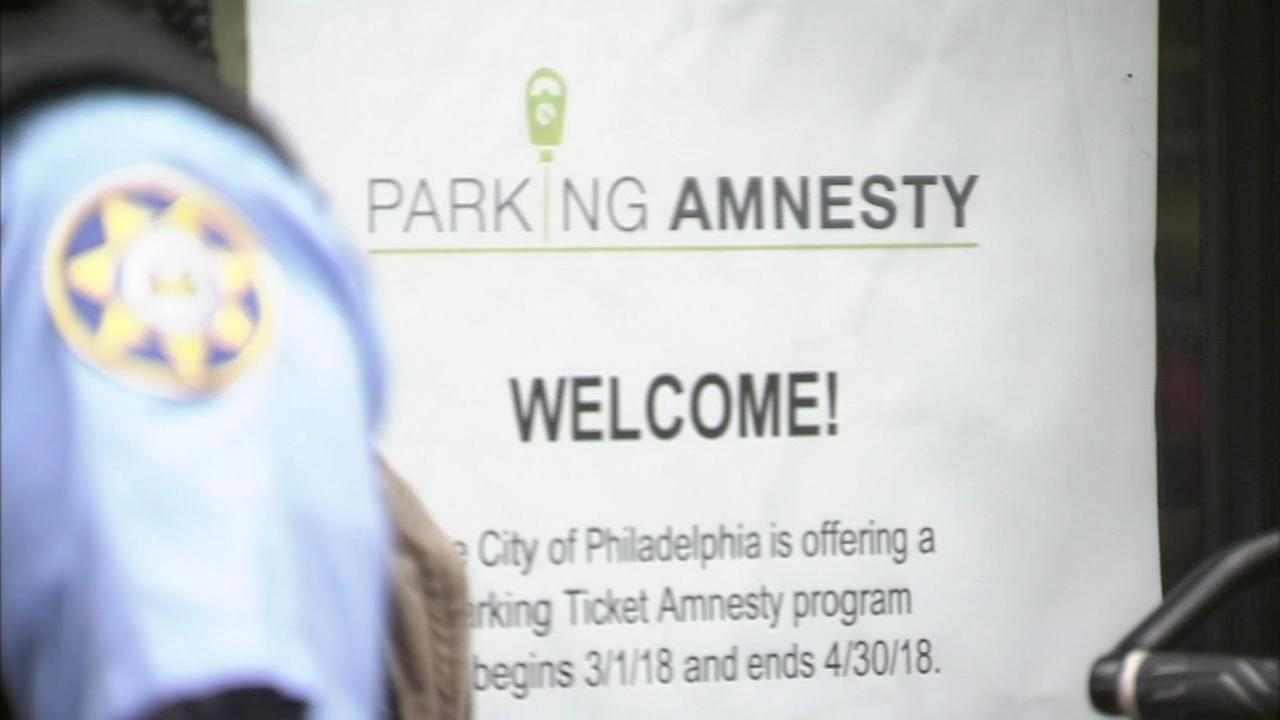City of Philadelphia offers parking ticket amnesty program