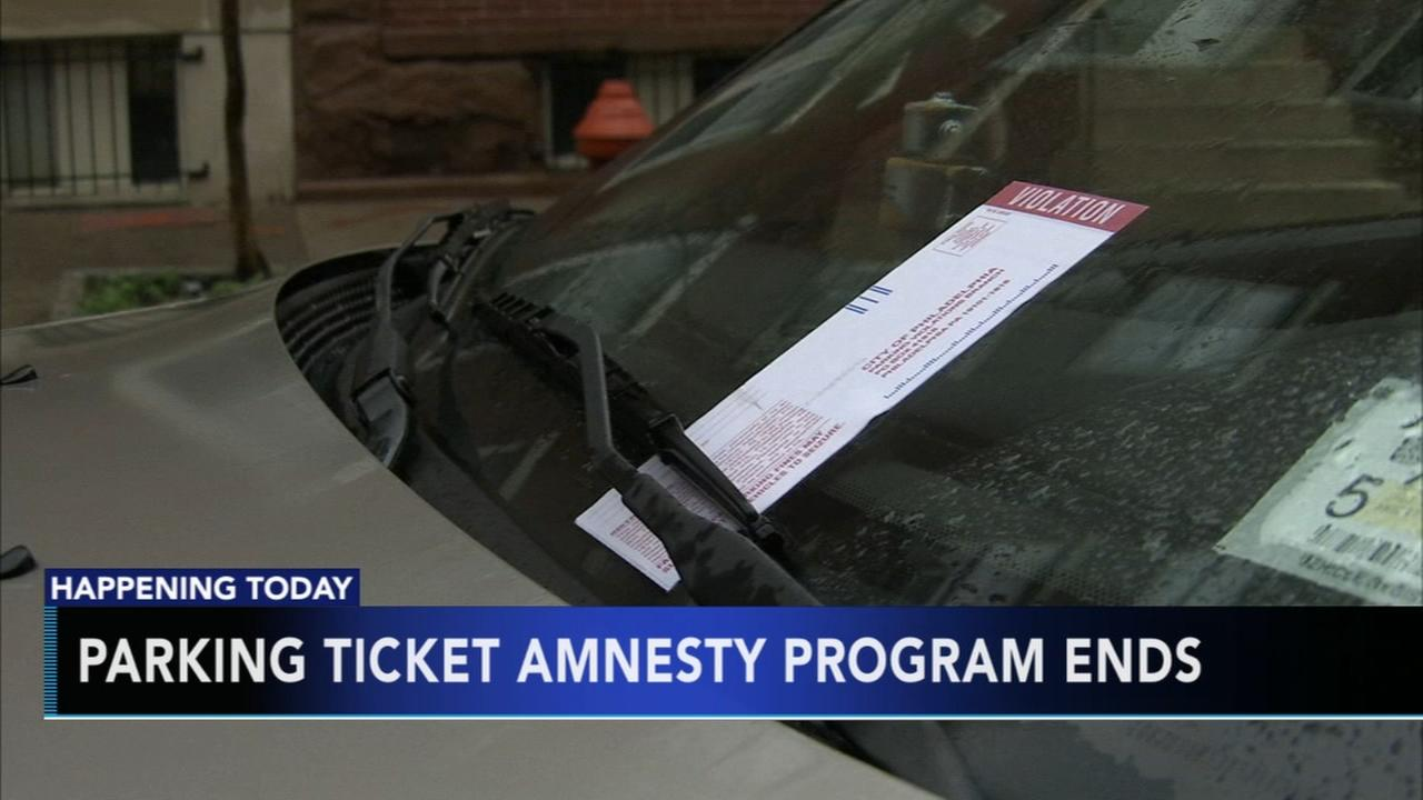 Parking ticket amnesty program ends