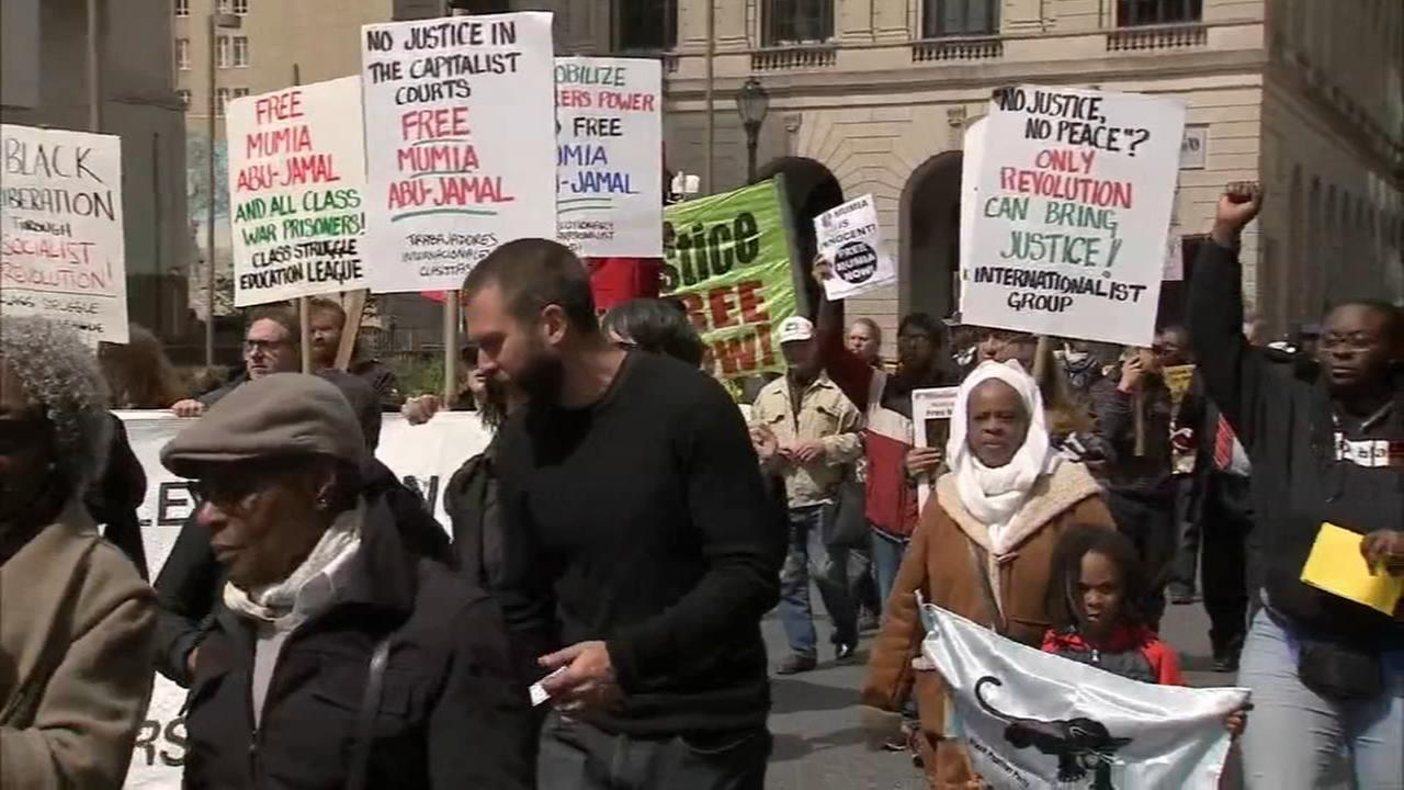 Protest seeks Mumia Abu-Jamals release