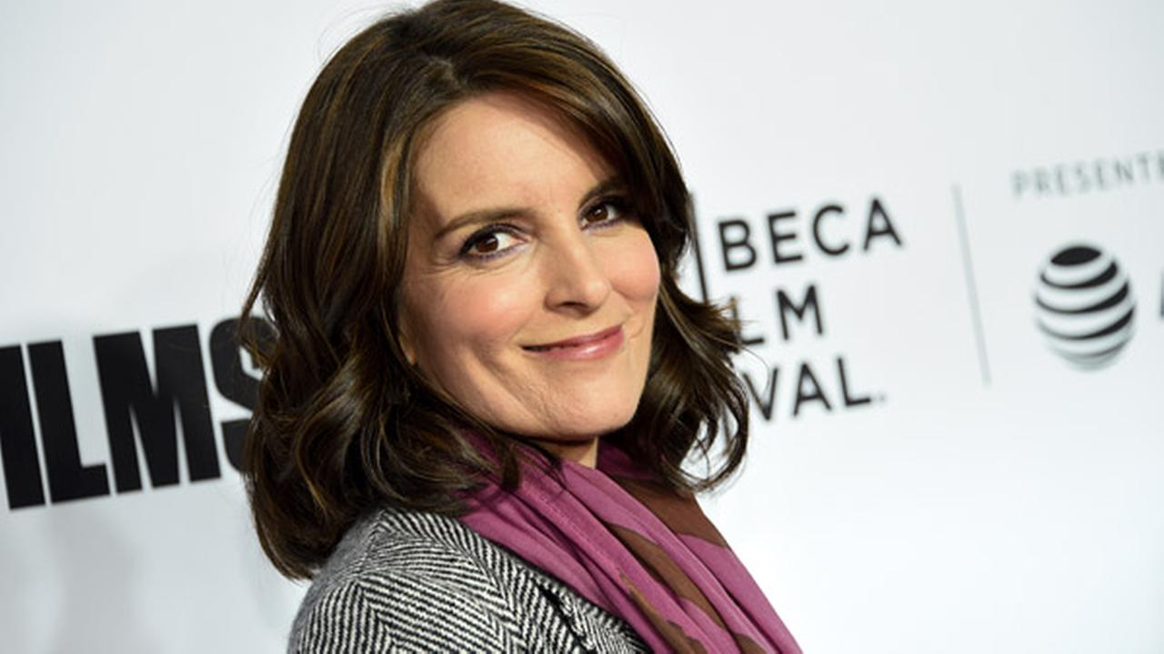 Television producer Tina Fey attends the Tribeca Film Festival opening night world premiere of Love, Gilda at the Beacon Theatre on Wednesday, April 18, 2018, in New York.