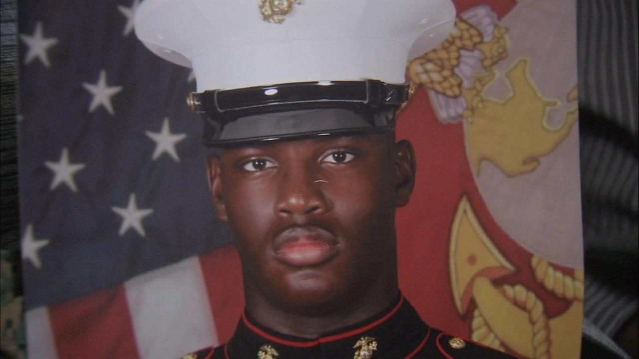 Parents seek answers in death of marine son in SW Philly