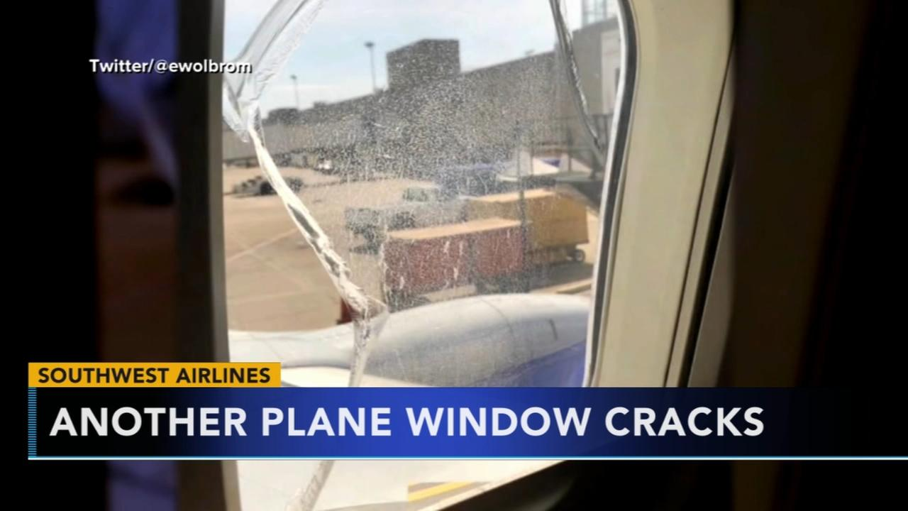 Broken window on Southwest flight prompts emergency landing