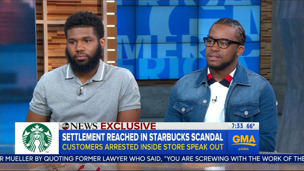 Men arrested at Philly Starbucks speak to GMA