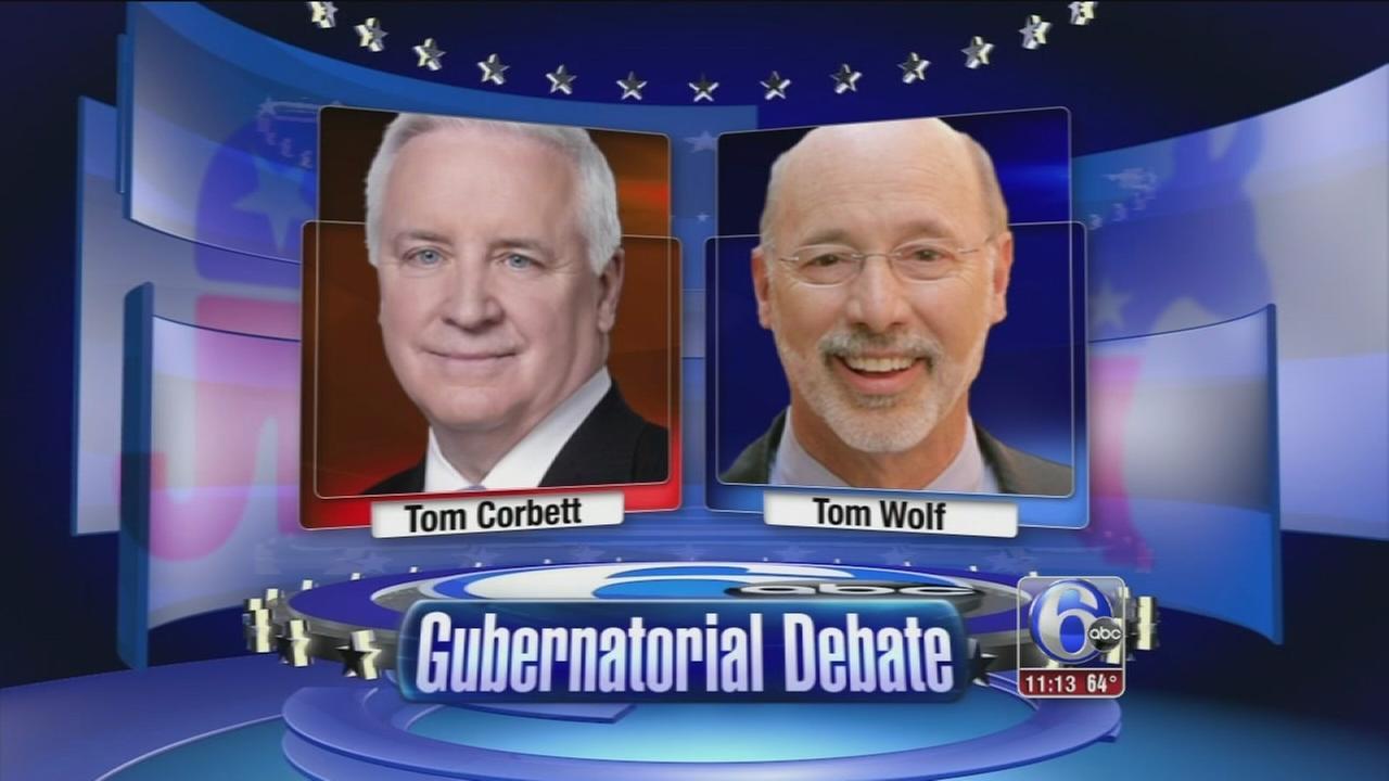 VIDEO: Wolf and Corbett hold last Pa. gov debate