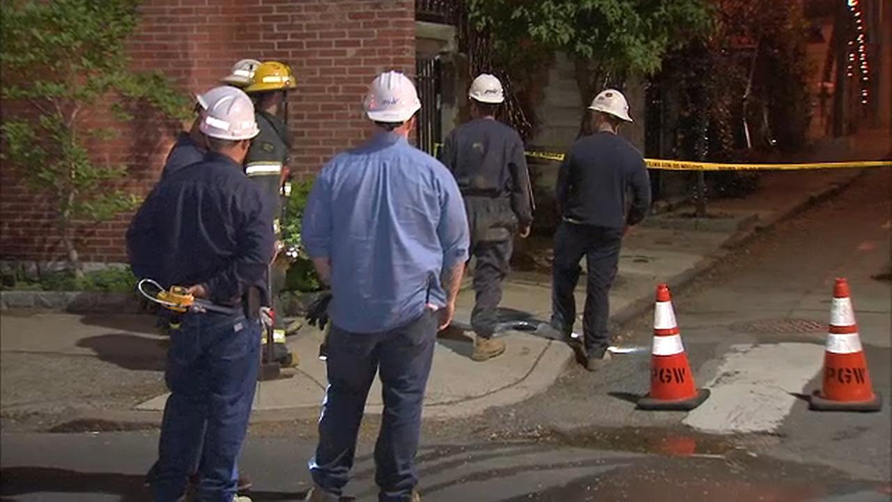 3 homes evacuated after gas fumes detected in Center City