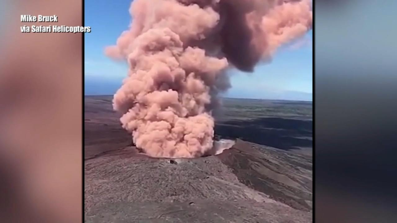 Volcano eruption prompts evacuations