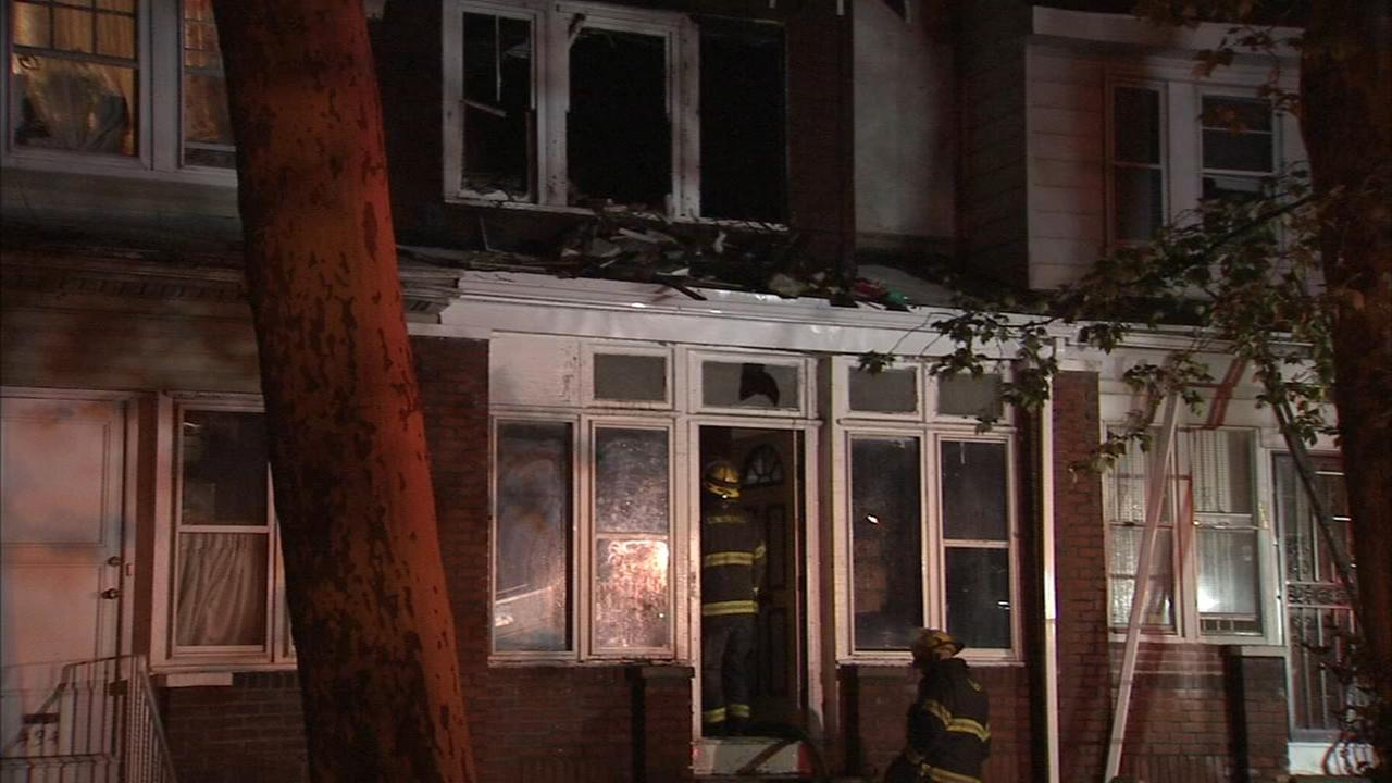Elderly man injured in Olney fire