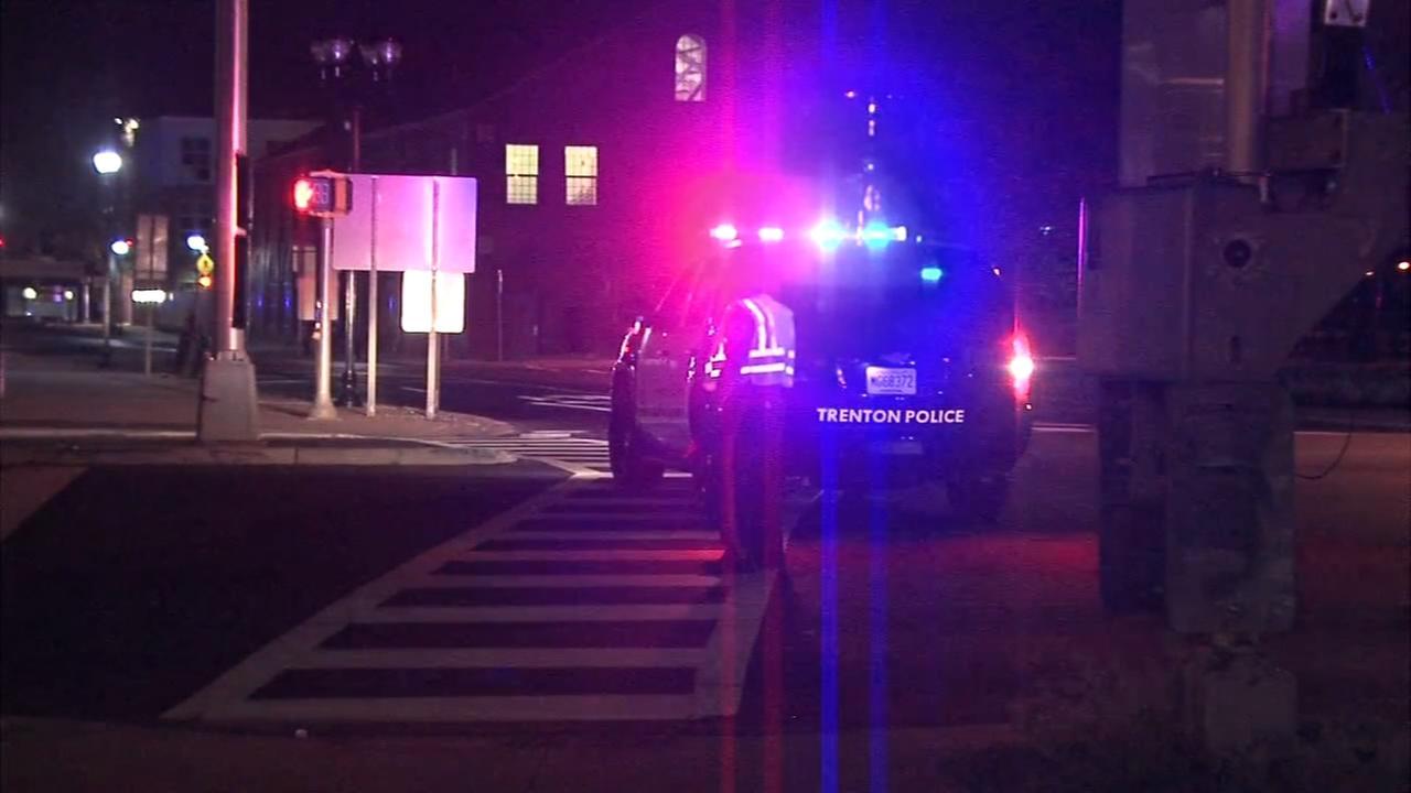 Pedestrian struck by car in Trenton