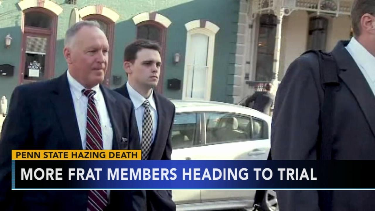 11 more Penn State frat members head to trial over pledge death