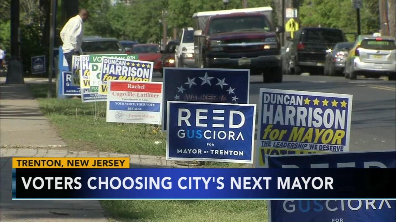 Voters choosing next mayor in Trenton Tuesday