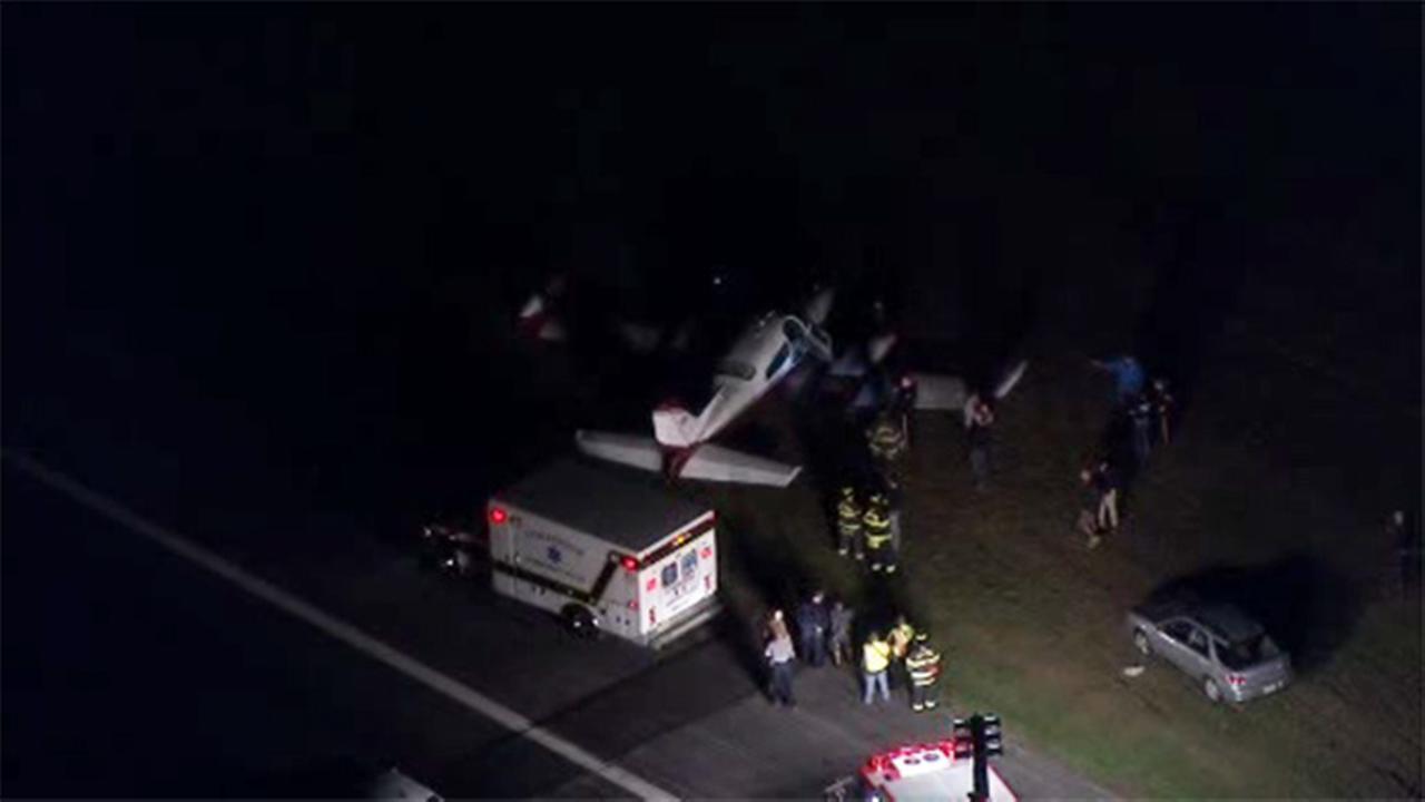 Small plane crash in Lumberton, New Jersey