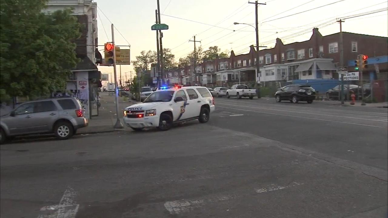 Child on bike hit by car in Southwest Philadelphia