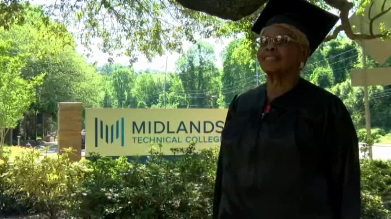 92-year-old woman graduating in South Carolina