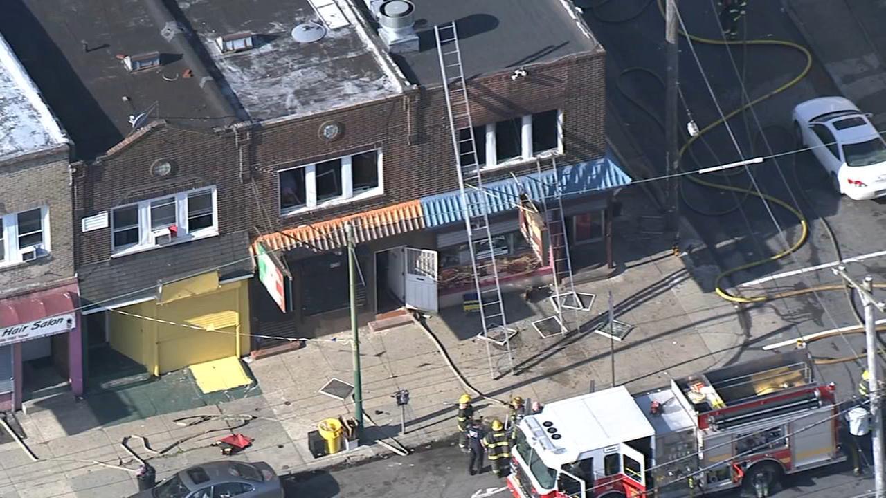 RAW VIDEO: Fire in Feltonville