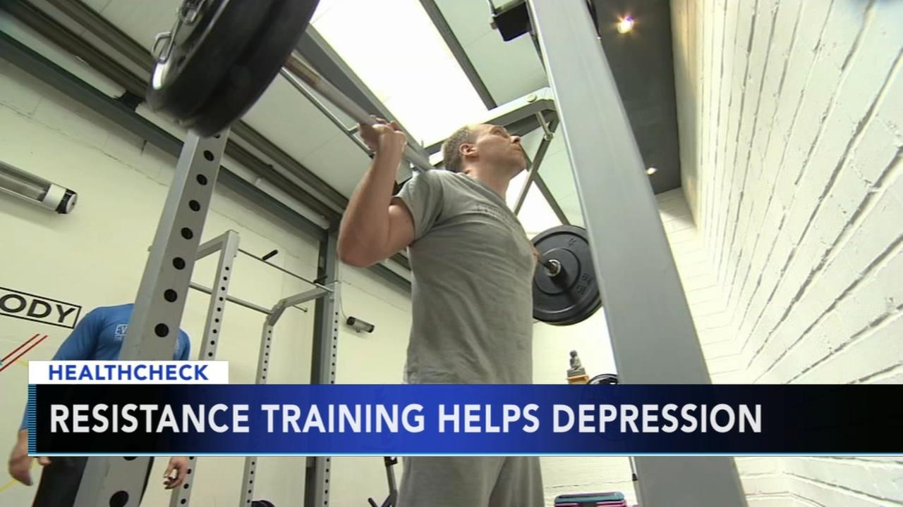 Resistance training can help depression