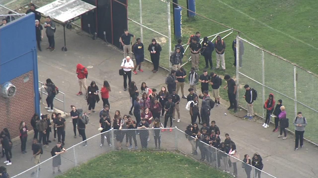 RAW VIDEO: Lockdown at G. Washington High School