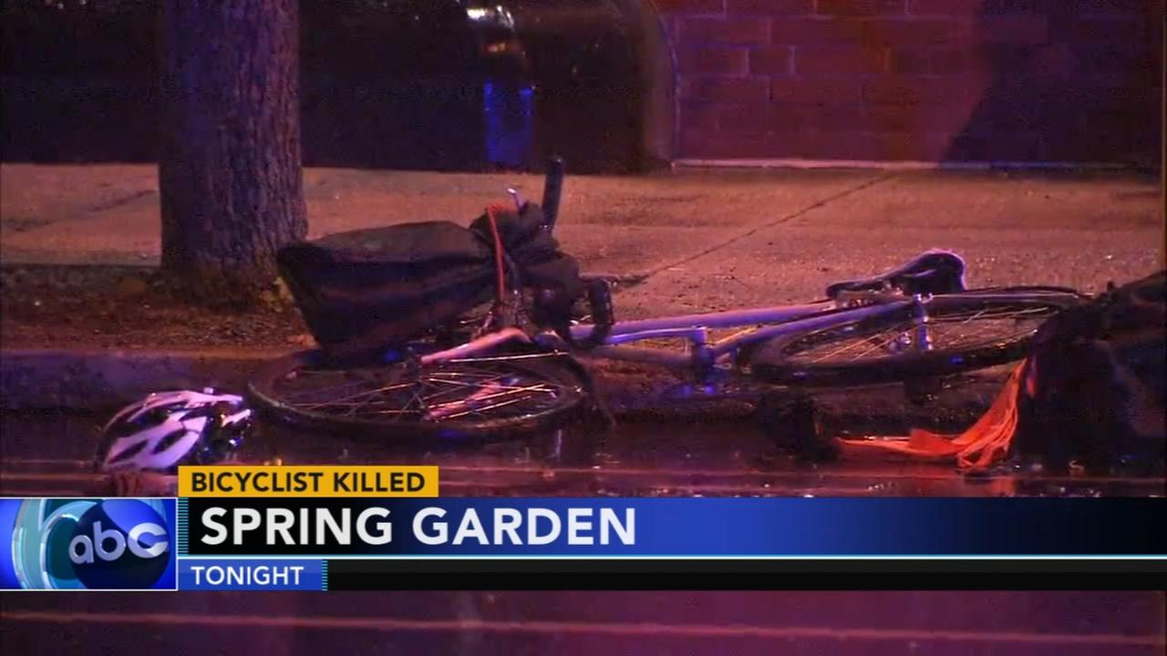 Bicyclist struck and killed by vehicle in Spring Garden