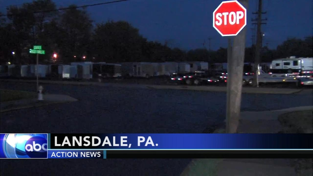 Police mans body found in Lansdale