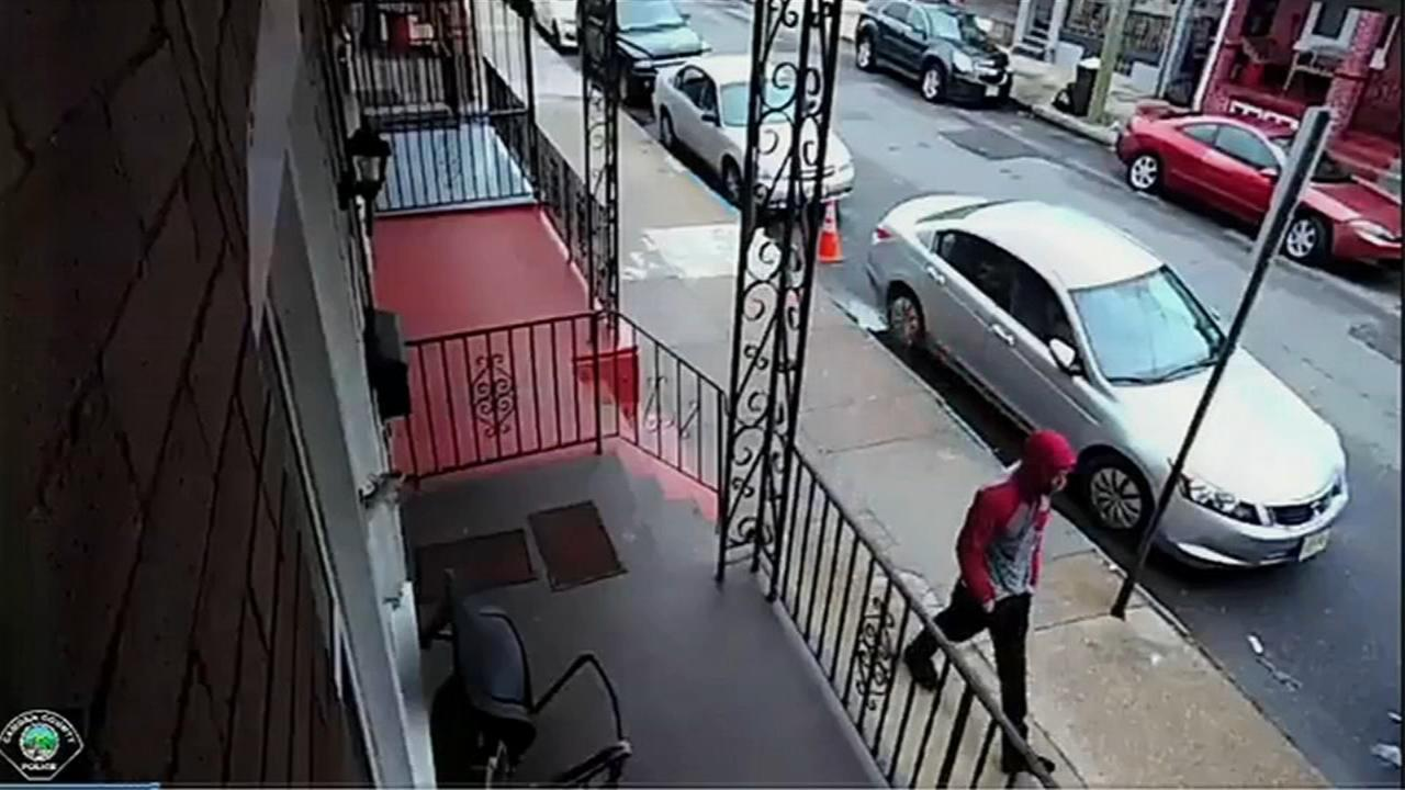 Police search for armed robbery suspect in Camden