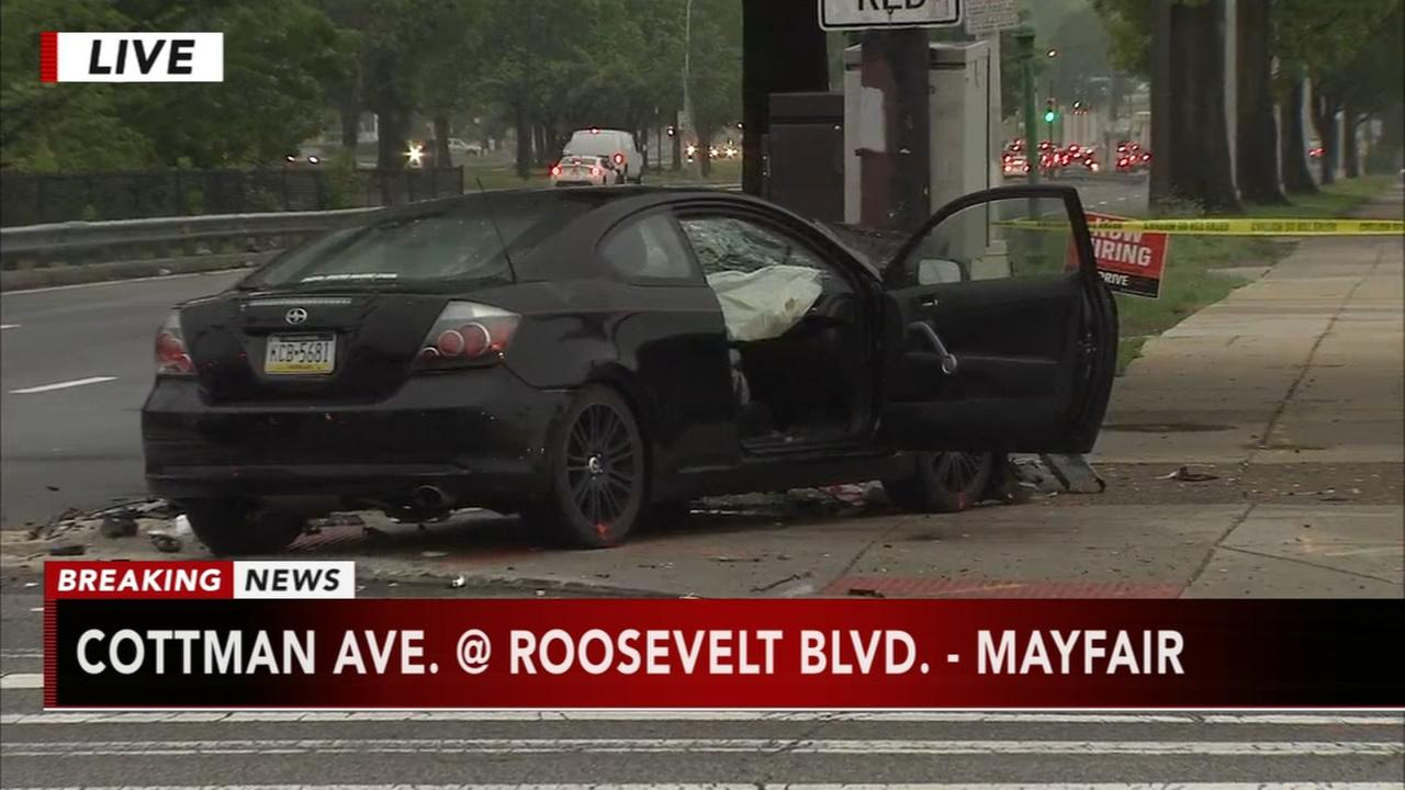 Deadly head-on crash shuts down Roosevelt Boulevard