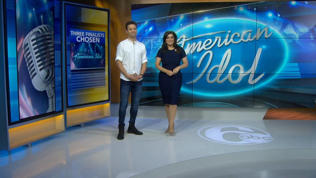 Justin Guarini and Alicia Vitarelli discuss American Idol Top 3
