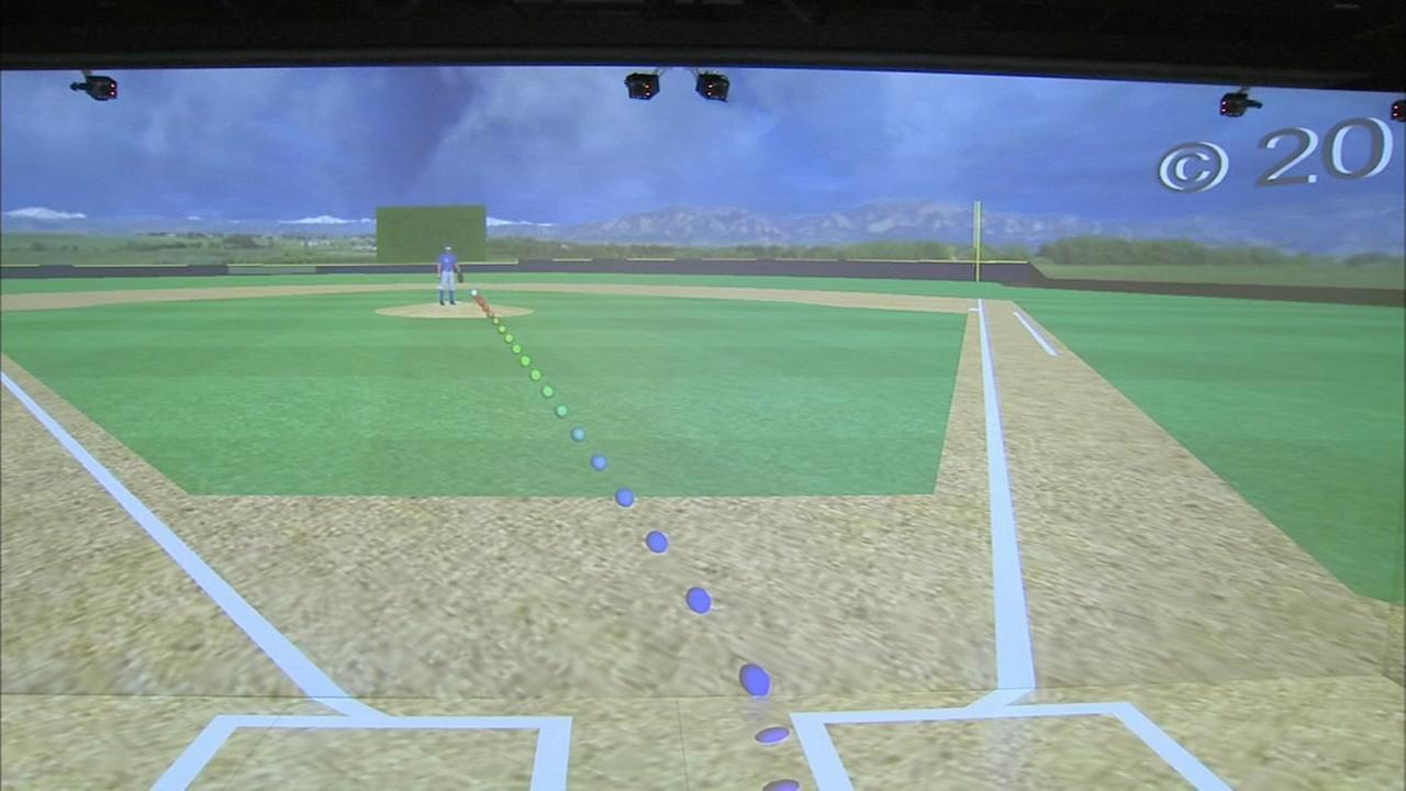 Baseball practice goes high tech at Villanova
