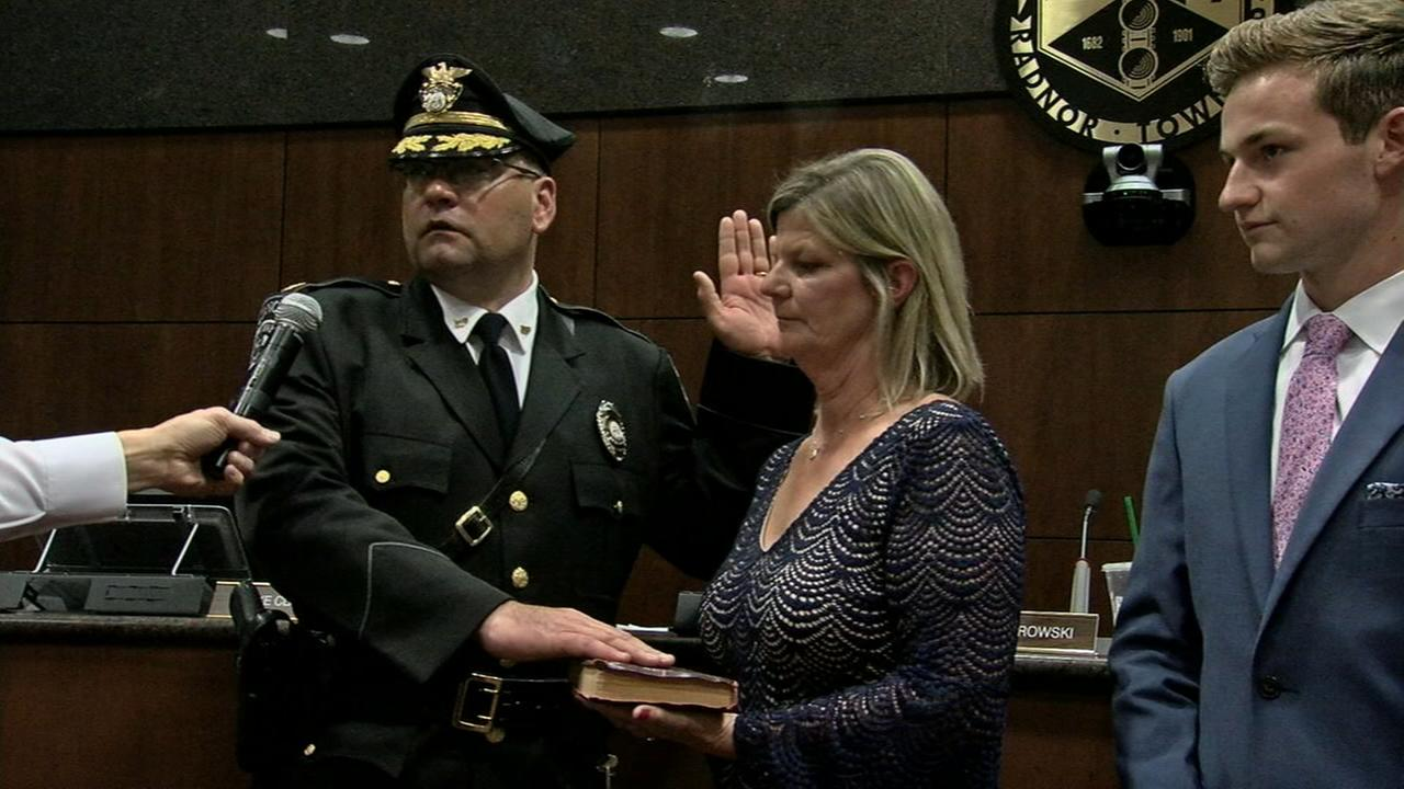 Radnor swears in new police chief