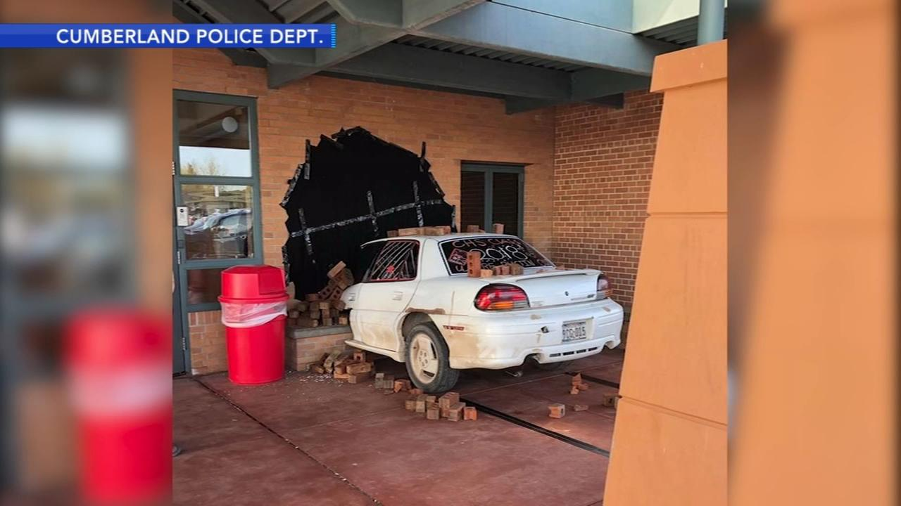 Police praise high school prank