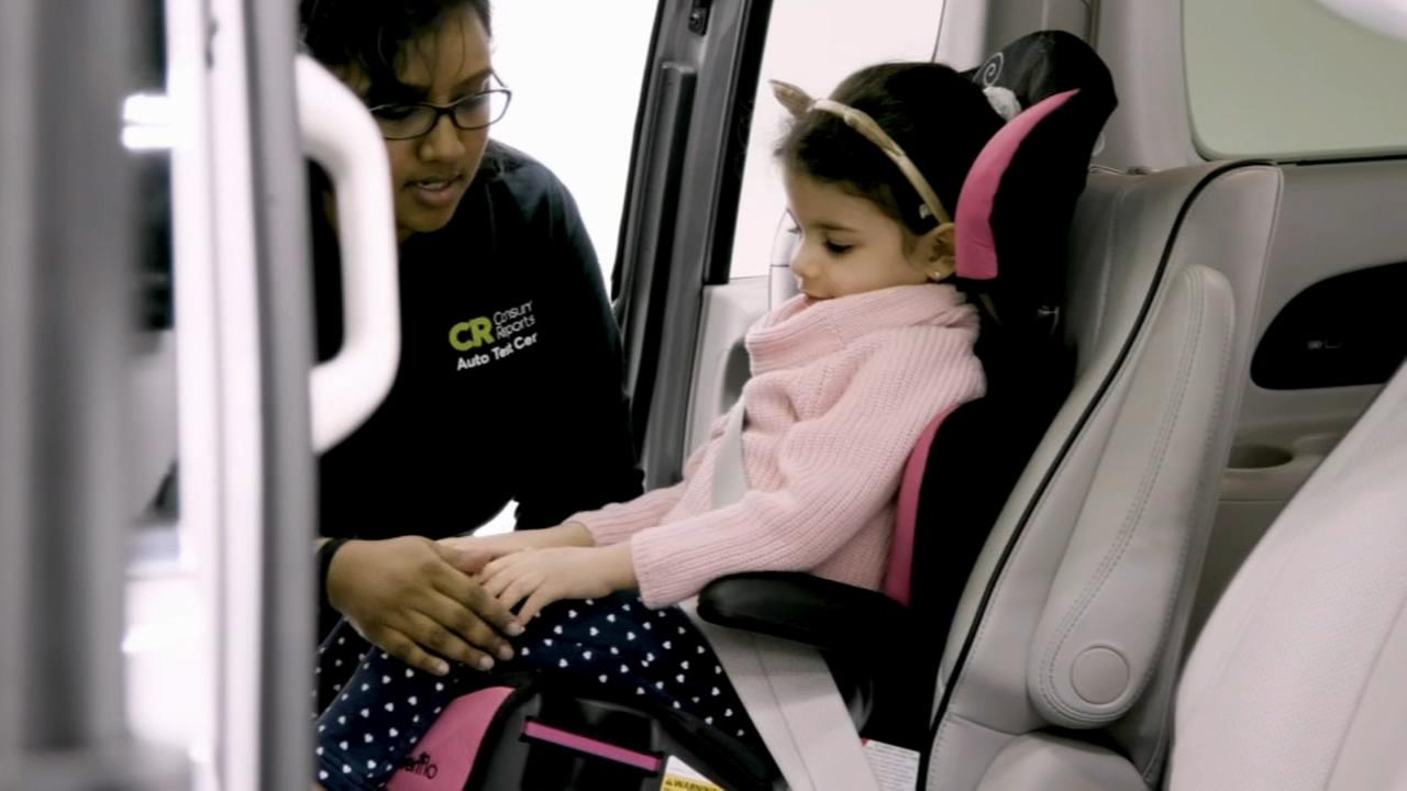 Consumer Reports: Booster seat safety for big kids