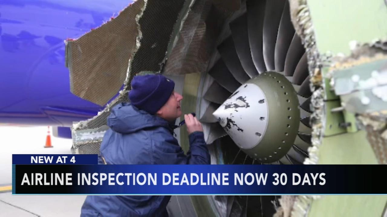 Airline inspection deadline now 30 days