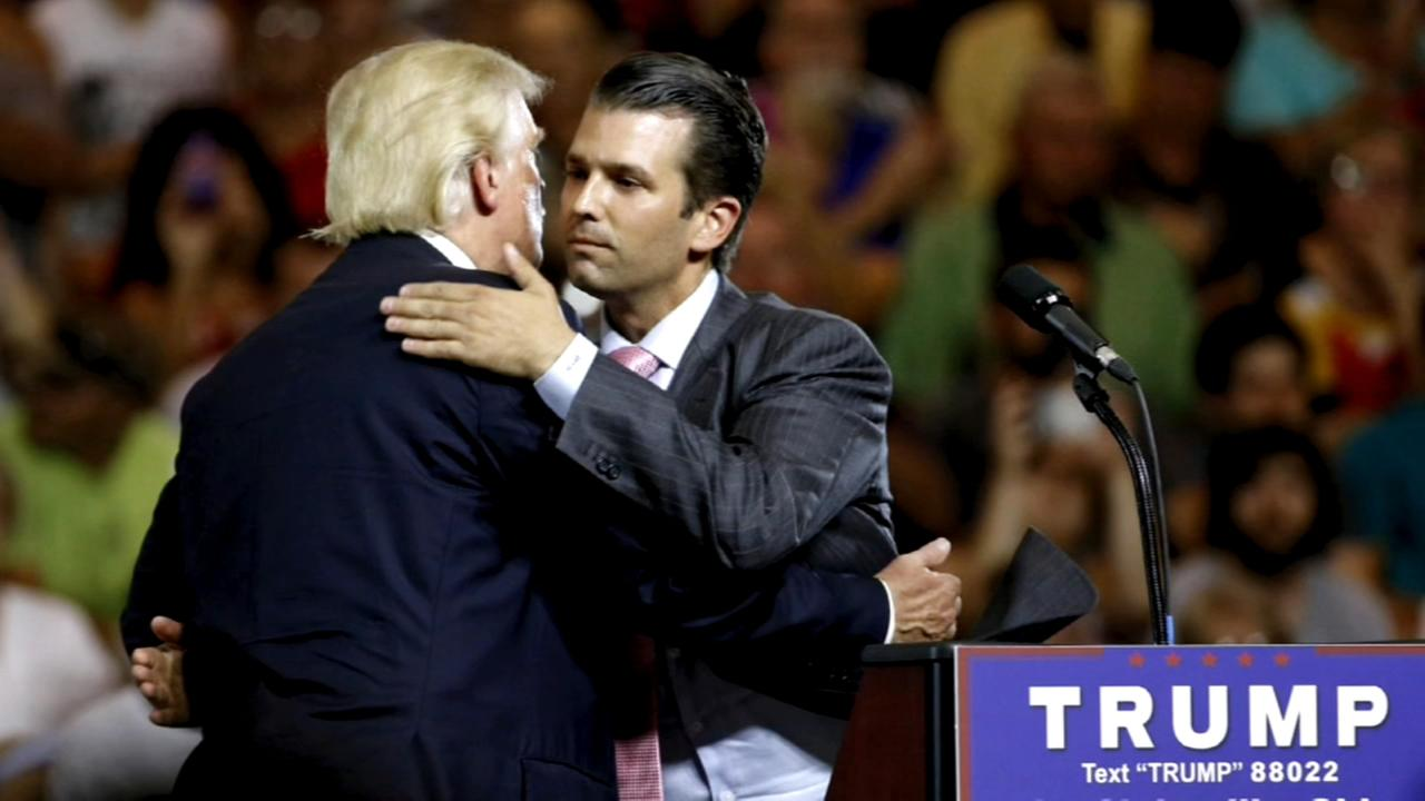 Trump Jr: Cant recall discussing Russia investigation with father